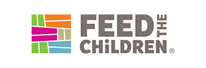 Logo for the organization Feed the Children