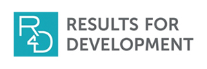Logo for the organization Results for Development (R4D)