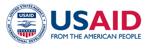Logo for the organization US AID From The American People